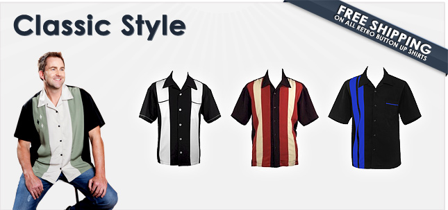 Retro Bowling Shirts