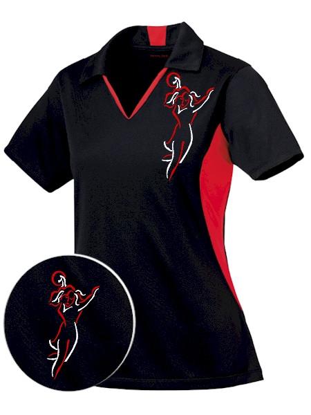 Home quot sexy bowler quot cool technology women s bowling shirt