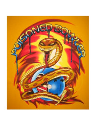 Poisoned Bowler Bowling T-shirt - CLOSEOUT