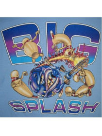 Big Splash Bowling T-shirt -  - CLEARANCE