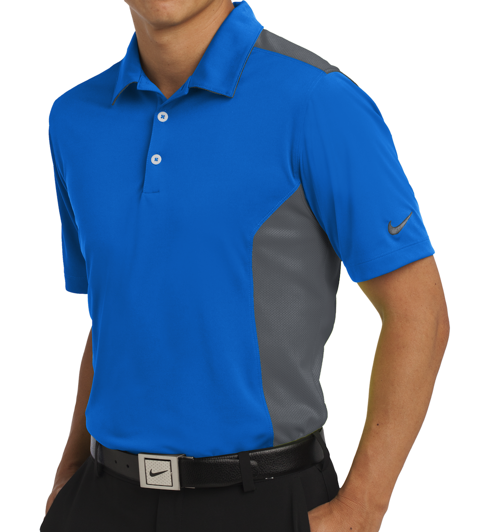 Nike performance dri fit mesh polo for Dri fit shirts on sale