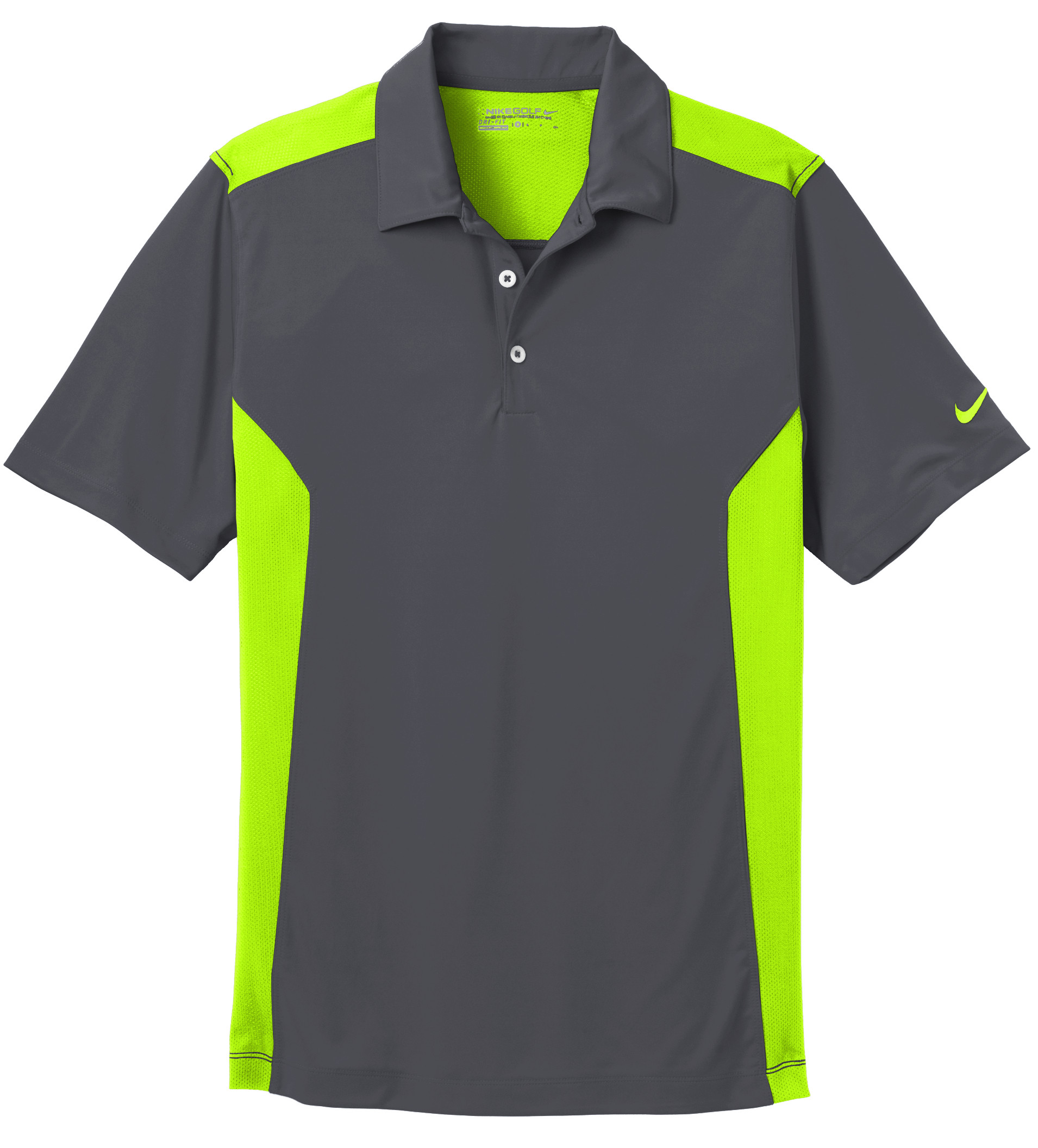 Nike performance dri fit mesh polo for Custom dry fit shirts