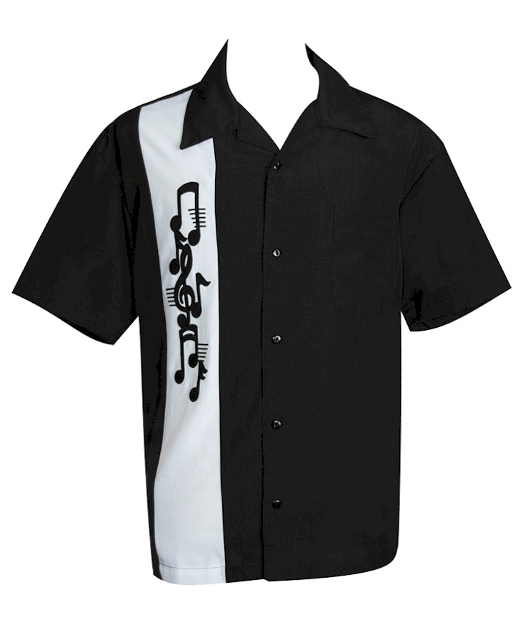 Jazz music shirt blues band shirt music note for Applique shirts for sale