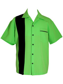 lime green bowling shirt