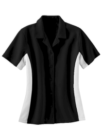 B & W : Ladies Bowling 50's Style Shirt - CLOSEOUT