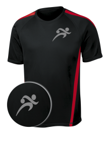 BALLISTIC : PosiCharge Performance Mens Bowling Tee